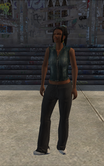 Generic black female - DowntownMusicStore - character model in Saints Row