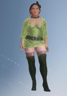 Ho04 - Roseanne - character model in Saints Row IV