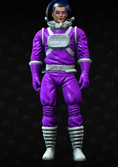 Johnny Gat - GatSpace - character model in Saints Row The Third