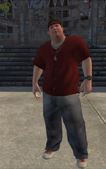 Los Carnales male Thug2-01 - w01 - character model in Saints Row