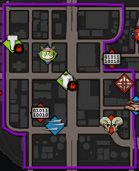 New Baranec map in Saints Row IV
