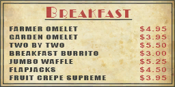 Smiling Jacks menu wall breakfast01 wo