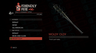 Weapon - Melee - Baseball Bat - Rat Stick - Moldy Oldy
