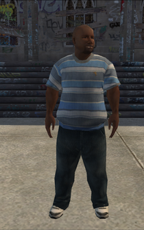 Generic young male 02 - black - character model in Saints Row