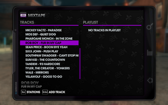 KRhyme 95.4 - Saints Row The Third tracklist - bottom