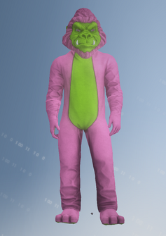 Mascot09 - Gorilla - character model in Saints Row IV