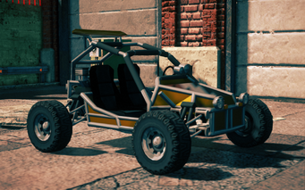 Mongoose - front right in Saints Row IV