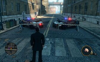 Peacemaker roadblock in Saints Row The Third