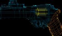 SRIV Pistols - Heavy Pistol - Cumia Magnum - Wireframe