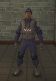 SWAT - black - character model in Saints Row 2