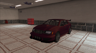 Saints Row variants - Voxel - Racer 01 - front left