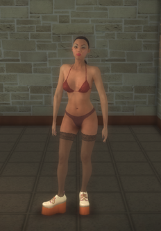 Stripper female - hispanic Casual - character model in Saints Row 2