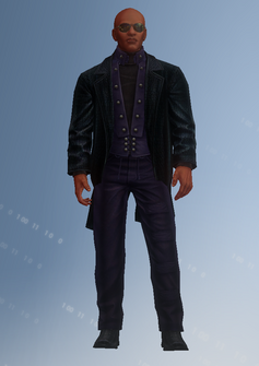 Ben King - super powered - character model in Saints Row IV