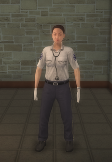 EMT - white female - character model in Saints Row 2