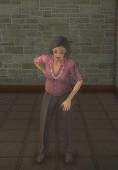 Elderly female - elderly female asian - character model in Saints Row 2