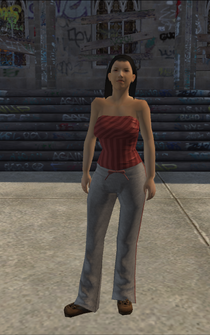Generic young female 03 - ApartmentsGunStore - character model in Saints Row