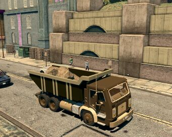 Longhauler - front right high in Saints Row The Third