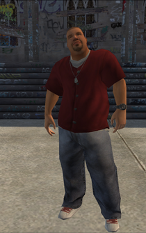 Los Carnales male Thug2-01 - h01 - character model in Saints Row