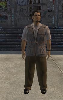 Paparrazi - hisp - character model in Saints Row