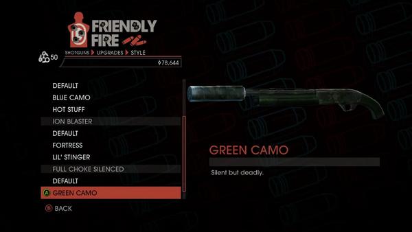 Weapon - Shotguns - Semi-Auto Shotgun - Full Choke Silenced - Green Camo