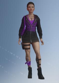 Zombie 10 - Hilda - character model in Saints Row IV