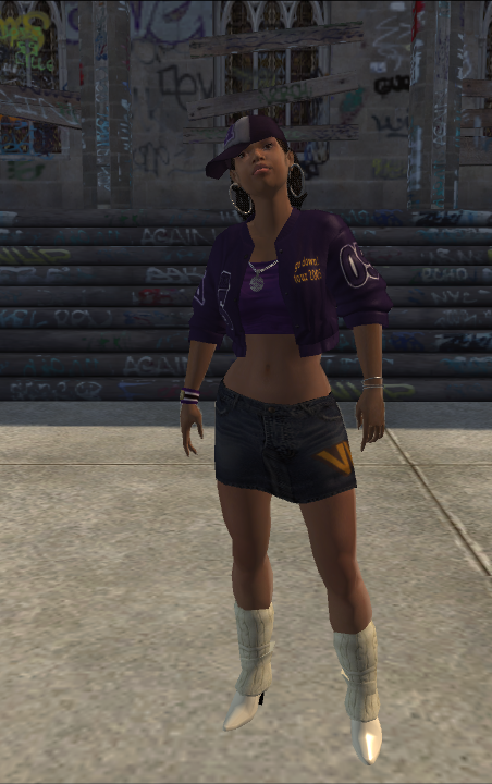 Aisha - character model in Saints Row