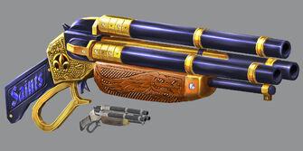 Bling Shotgun Concept Art