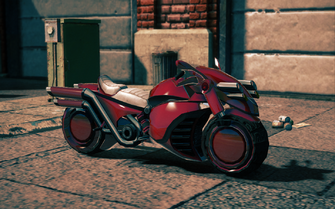Bloody Cannoness - front right in Saints Row IV