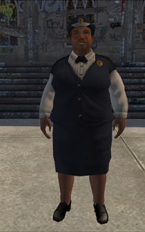 FatMeterMaid - black - character model in Saints Row