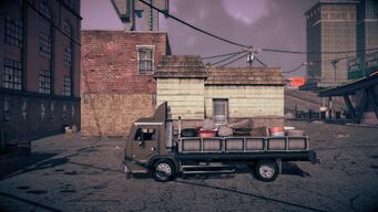 Flatbed - left in Saints Row IV