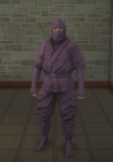 Gang Customization - Ninjas - male soldier 1 - asian