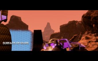 Gangstas in Space - surface of mars