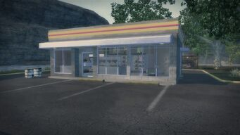 Gas Station New Hennequet - exterior front of building