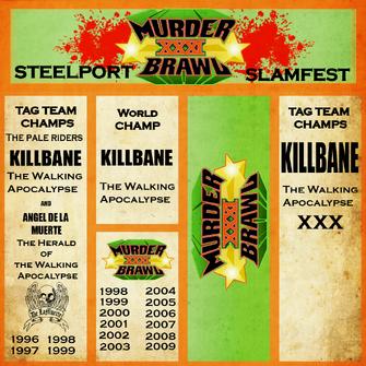 Murderbrawl XXXI sign textures