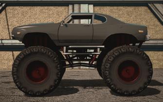 Saints Row IV variants - Bootlegger XL - average variant - left