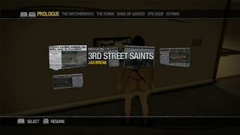 Saints Row Mega Condo - Newspaper Clipboard