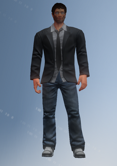 Anthony Burch - character model in Saints Row IV
