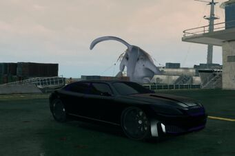 Blade - custom Black and Purple paint in Saints Row The Third