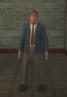 Business male - hispanic with glasses - character model in Saints Row 2