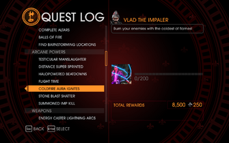 Gat out of Hell Challenge - Coldfire Aura Ignites