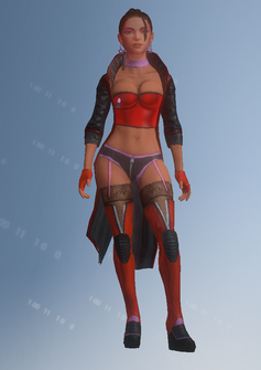 Morningstar - Liilian - character model in Saints Row IV