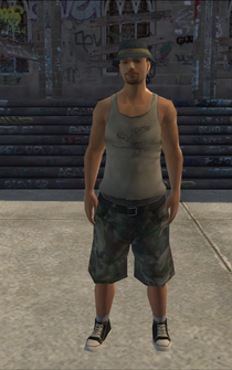 Poor male - latino - character model in Saints Row