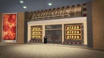 Rounds Square Shopping Center - Randalls pizza
