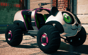Sad Panda - front right in Saints Row IV