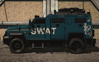 Saints Row IV variants - Lockdown SWAT - left