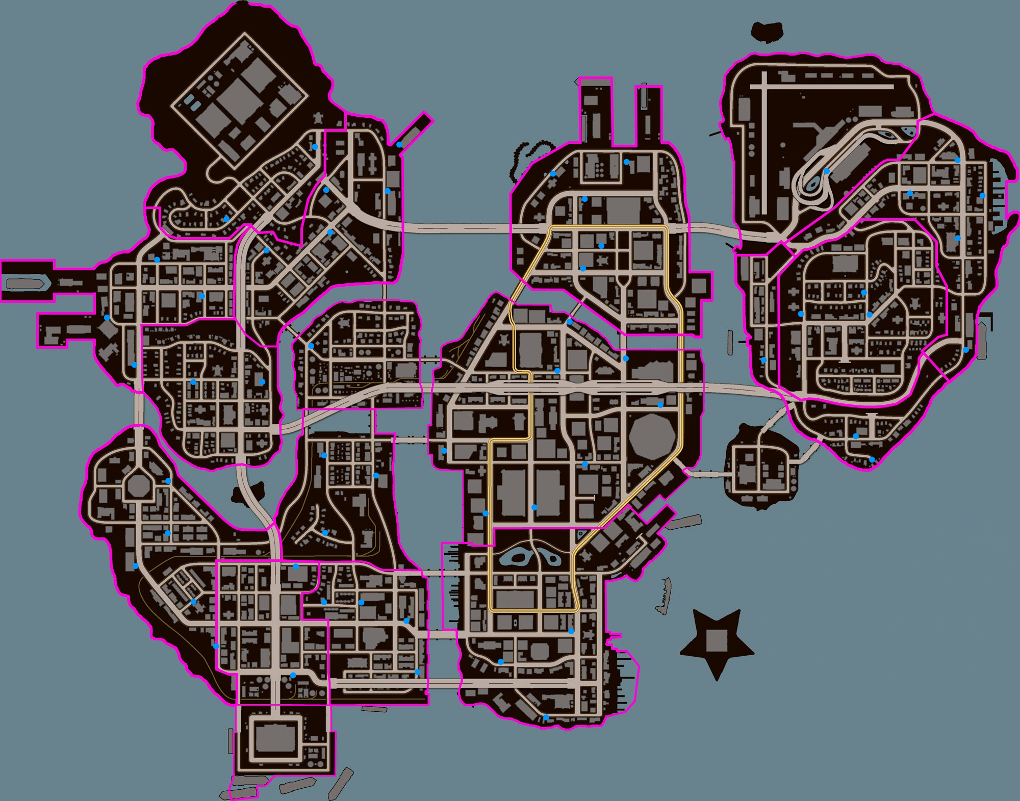 Saints Row 3 Map Activities and Diversions in Saints Row: The Third | Saints Row  Saints Row 3 Map