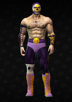 Angel - character model in Saints Row The Third