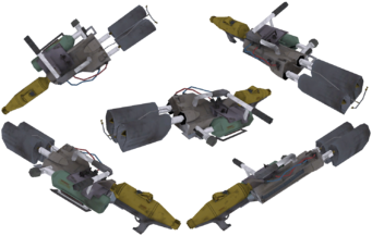Flamethrower from Saints Row 2 in model viewer