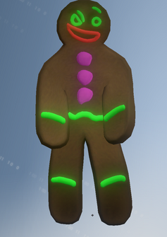 Gingerbread - character model in Saints Row IV
