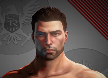 Playa closeup in Saints Row IV